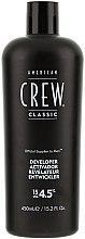 Parfémy, Parfumerie, kosmetika Vyvíječ pro systém maskování šedých vlasů - American Crew Precision Blend Developer 15 Vol 4.5%