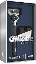 Parfémy, Parfumerie, kosmetika Sada - Gillette Fusion5 ProShield Chill (holicí strojek/1psc + stojan)