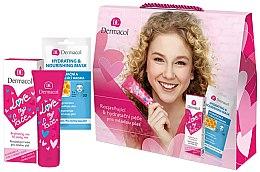 Parfémy, Parfumerie, kosmetika Sada - Dermacol Love My Face (cr/50ml + mask/15ml)
