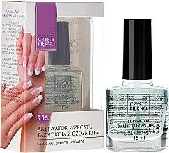 Parfémy, Parfumerie, kosmetika Aktivátor růstu nehtů - Czyste Piękno Garlic Nail Growth Activator