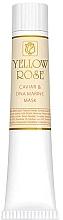 Parfémy, Parfumerie, kosmetika Maska na obličej s kaviárem a morským DNA (tuba) - Yellow Rose Caviar & Marine DNA Face Mask