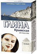 """Parfémy, Parfumerie, kosmetika Hlína na obličej a tělo """"krymská"""", bílá - Fito Kosmetik"""