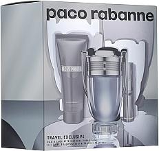 Parfémy, Parfumerie, kosmetika Paco Rabanne Invictus - Sada (edt/100ml + edt/10ml + sh/gel/75ml)