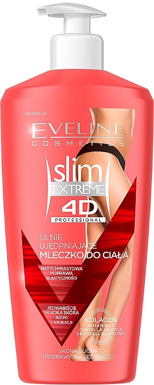Zpevňující tělové mléko - Eveline Cosmetics Slim Extreme 4D