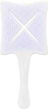Parfémy, Parfumerie, kosmetika Profesionální fénovací a stylingový kartáč na vlasy - Ikoo Paddle X Classic Platinum White