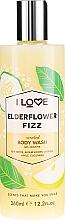 Parfémy, Parfumerie, kosmetika Sprchový gel Bezový koktejl - I Love Elderflower Fizz Body Wash