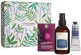 Parfémy, Parfumerie, kosmetika Sada - L'Occitane (f/mask/6ml + mist/100ml + h/cr/30ml)