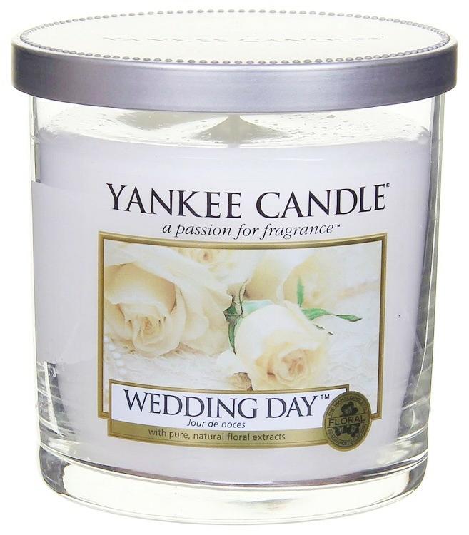 Aromatická svíčka v sklenici Svatební den - Yankee Candle Wedding Day — foto N3