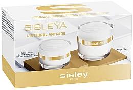 Parfémy, Parfumerie, kosmetika Sada - Sisley L'Integral Anti-Age Face-Eye Set (f/cr/50ml + lip/eye/cr/15ml)