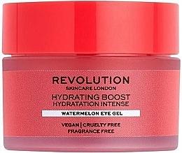 Parfémy, Parfumerie, kosmetika Hydratační gel pro pleť kolem oči - Revolution Skincare Hydration Boost Watermelon Eye Gel