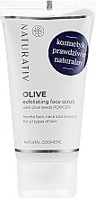 Parfémy, Parfumerie, kosmetika Olivový peeling obličeje - Naturativ Olive Exfolianting Face Scrub