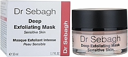 Parfémy, Parfumerie, kosmetika Hluboce exfoliační maska pro citlivou pleť - Dr Sebagh Deep Exfoliating Mask
