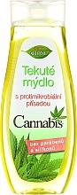 Parfémy, Parfumerie, kosmetika Tekuté mýdlo na ruce - Bione Cosmetics Cannabis Liquid Hand Wash With Germicidal Ingredient (bez dávkovače)
