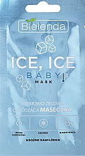 Parfémy, Parfumerie, kosmetika Chladicí pleťová maska - Bielenda Ice Ice Baby Mask