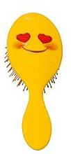 Parfémy, Parfumerie, kosmetika Kartáč na vlasy 2003W, smajlík s úsměvem - IDC Design XL Detangle Brush