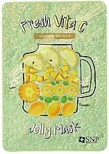Parfémy, Parfumerie, kosmetika Vitalizující pleťová maska - SNP Fresh Vita C Jelly Mask