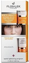 Krém pro lokální péče proti pigmentovým skvrnám - Floslek White & Beauty Intense Spots And Freckles Lightening Cream — foto N1