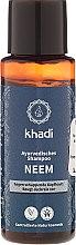 Parfémy, Parfumerie, kosmetika Ajurvédský šampon proti lupům Neem - Khadi Neem Shampoo