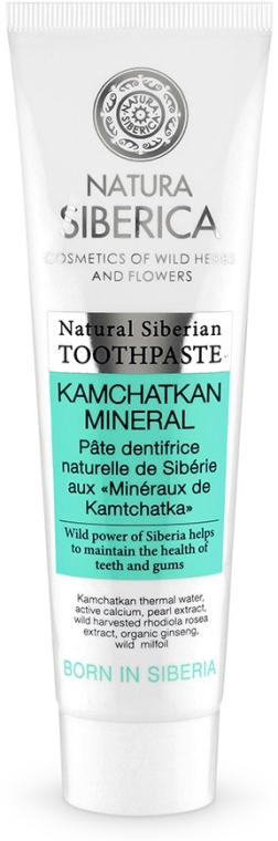 """Zubní pasta """"Kamčatská minerální"""" - Natura Siberica"""