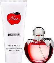 Parfémy, Parfumerie, kosmetika Nina Ricci Nina - Sada (edt/80ml + b/cr-lot/100ml)