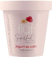 Parfémy, Parfumerie, kosmetika Tělový jogurt Malína a mandle - Fluff Body Yogurt Raspberries and Almonds