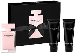 Parfémy, Parfumerie, kosmetika Narciso Rodriguez For Her - Sada (edt/50ml + b/lot/75ml + sh/gel/75ml)