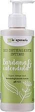 Parfémy, Parfumerie, kosmetika Gel pro intimní hygienu s lopuchem a měsíčkem - La Saponaria Burdock & Calendula Intimate Wash
