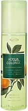 Parfémy, Parfumerie, kosmetika Maurer & Wirtz 4711 Acqua Colonia Blood Orange & Basil - Tělový sprej