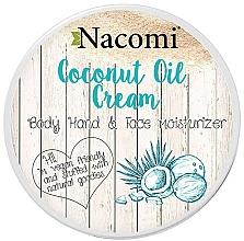 Parfémy, Parfumerie, kosmetika Kokosový krém na tělo - Nacomi Coconut Cream