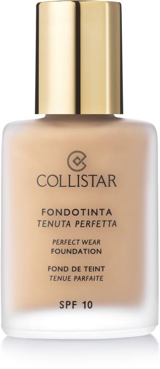 Tonální krém - Collistar Perfect Wear Foundation SPF 10