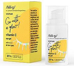 Parfémy, Parfumerie, kosmetika Gel na oční okolí s vitamínem C - Kili·g Woman Eye Gel