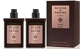 Parfémy, Parfumerie, kosmetika Acqua di Parma Colonia Leather Eau de Cologne Travel Spray Refill - Kolínská voda