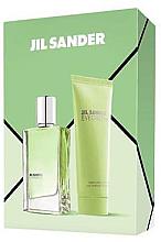 Parfémy, Parfumerie, kosmetika Jil Sander Evergreen - Sada (edt/30ml + body/lot/75ml)