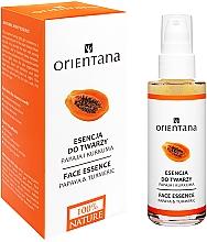 Parfémy, Parfumerie, kosmetika Esence-maska na obličej - Orientana Bio Essence-Mask Papaya & Turmeric