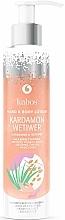 Parfémy, Parfumerie, kosmetika Balzám na tělo a ruce Kardamom a vetiver - Kabos Cardamon & Vetiwer Hand & Body Lotion