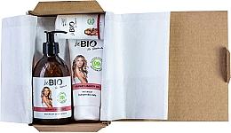 Parfémy, Parfumerie, kosmetika Sada - BeBio Pomegranate And Goji Berries Set (sh/gel/400ml + b/lot/200ml + deo/roll-on/50ml)