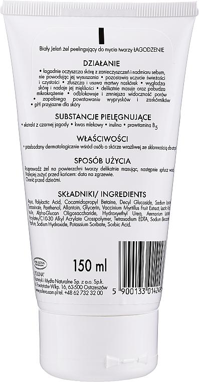 Exfoliační pleťový gel - Bialy Jelen Gel Exfoliating Facial Cleanser — foto N2