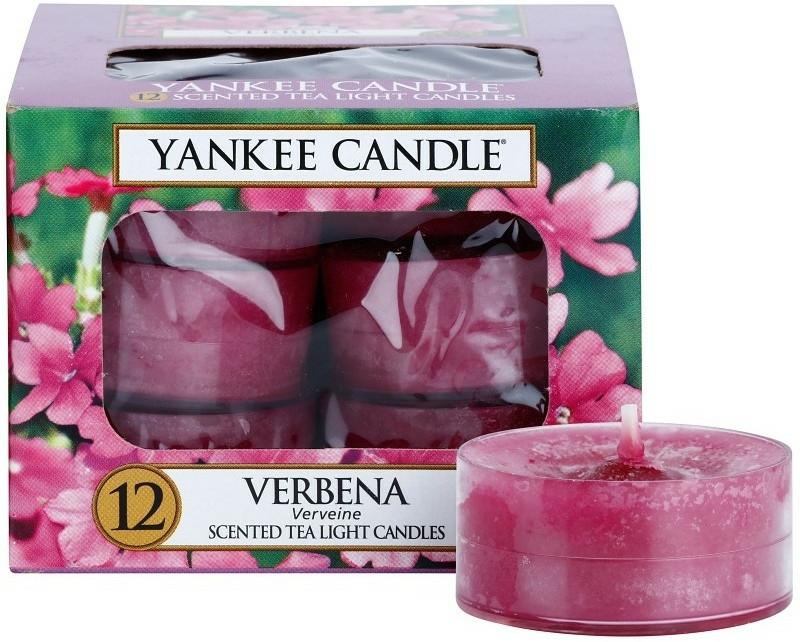 Čajové svíčky - Yankee Candle Scented Tea Light Candles Verbena — foto N1