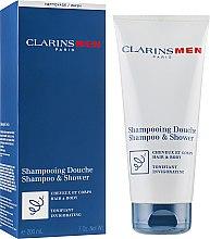 Tonizující šampon na tělo a vlasy - Clarins Men Shampoo & Shower — foto N1
