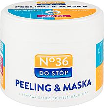 Parfémy, Parfumerie, kosmetika Maska-peeling na nohy dvoustupňová - Pharma CF No.36 Peeling & Mask