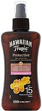 Parfémy, Parfumerie, kosmetika Suchý olej na opalování - Hawaiian Tropic Protective Dry Spray Sun Oil SPF 15
