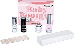 Parfémy, Parfumerie, kosmetika Sada - NeoNail Professional Baby Boomer Set (top/7,2ml + base/7,2ml + gel/5ml + gum/12ml + sponge/25pc + sticks/10pc)