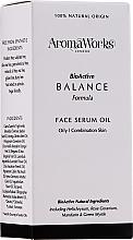 Parfémy, Parfumerie, kosmetika Pleťové sérum - AromaWorks Balance Face Serum Oil