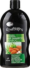 Parfémy, Parfumerie, kosmetika Šampon na vlasy s extraktem z mandlí a aloe vera - Bluxcosmetics Naturaphy Hair Shampoo