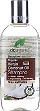 Parfémy, Parfumerie, kosmetika Šampon na vlasy - Dr. Organic Bioactive Haircare Virgin Coconut Oil Shampoo