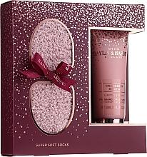 Parfémy, Parfumerie, kosmetika Sada - Baylis & Harding Limited Edition Cranberry Martini (f/lot/125ml + socks/1pcs)