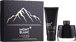 Parfémy, Parfumerie, kosmetika Montblanc Legend Eau De Parfum - Sada (edp/50ml + sh/gel/100ml)