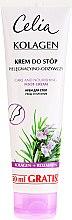 Parfémy, Parfumerie, kosmetika Výživný krém na nohy - Celia Collagen Foot Cream