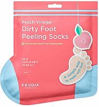 Parfémy, Parfumerie, kosmetika Peelingová maska na nohy v ponožkách s vůní broskve - Frudia My Orchard Foot Peeling Mask