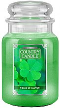 Parfémy, Parfumerie, kosmetika Vonná svíčka ve skle - Country Candle Fields Of Clover